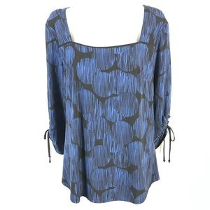 Laura jersey blouse